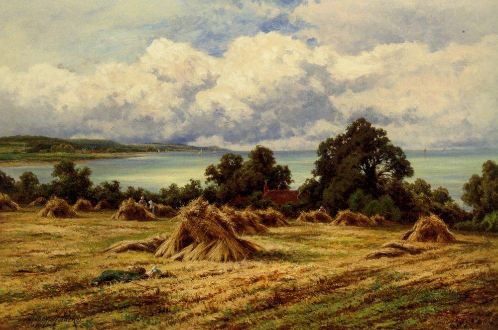 Harvest Time :: Henry Hillier Parker - Summer landscapes and gardens фото