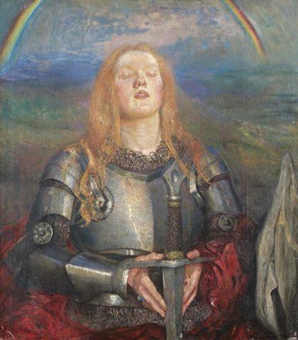 Joan of Arc :: Annie Louisa Robinson Swynnerton - History painting фото