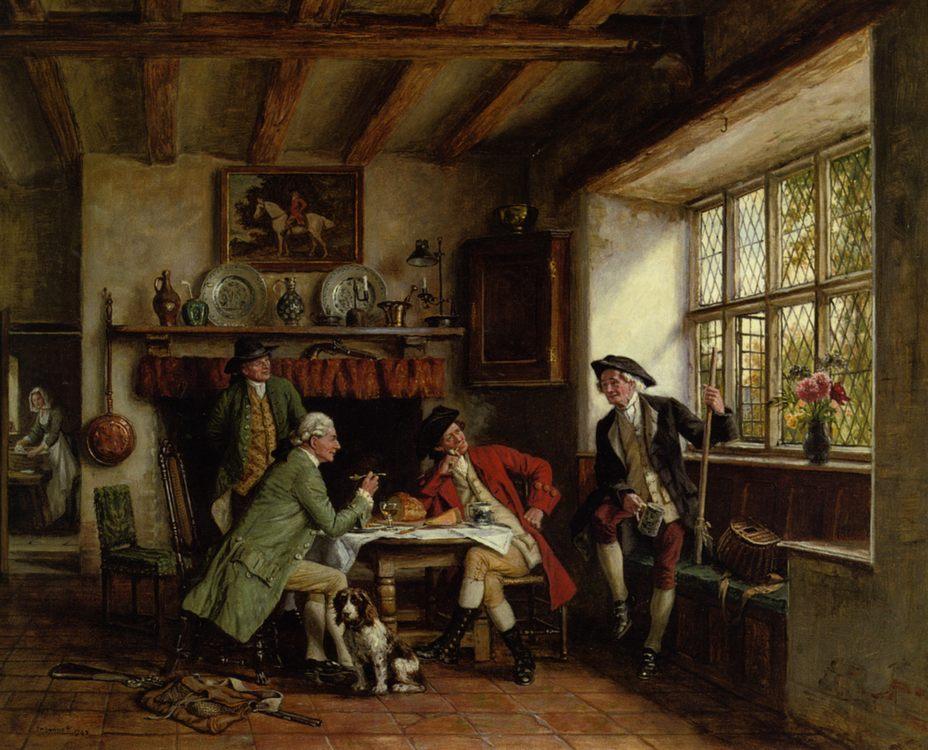 The Anglers Story :: Frank Moss Bennett - Hunting scenes ôîòî