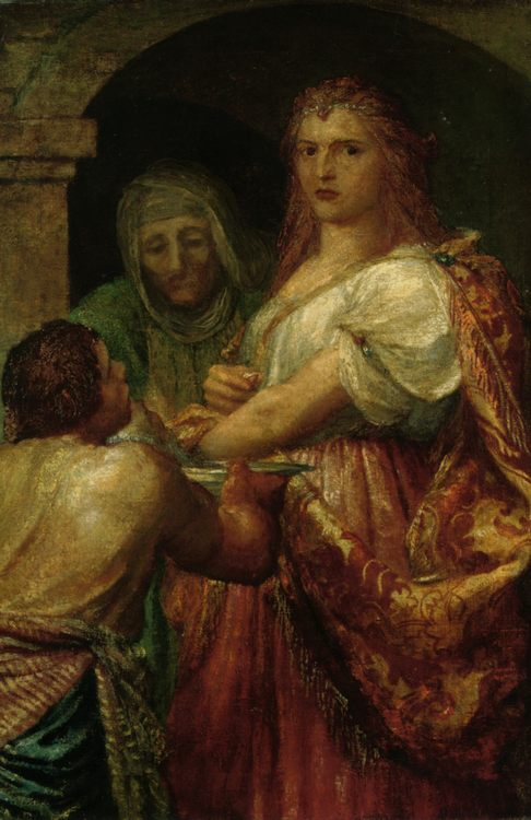 The Daughter of Herodias :: George Frederick Watts - mythology and poetry фото
