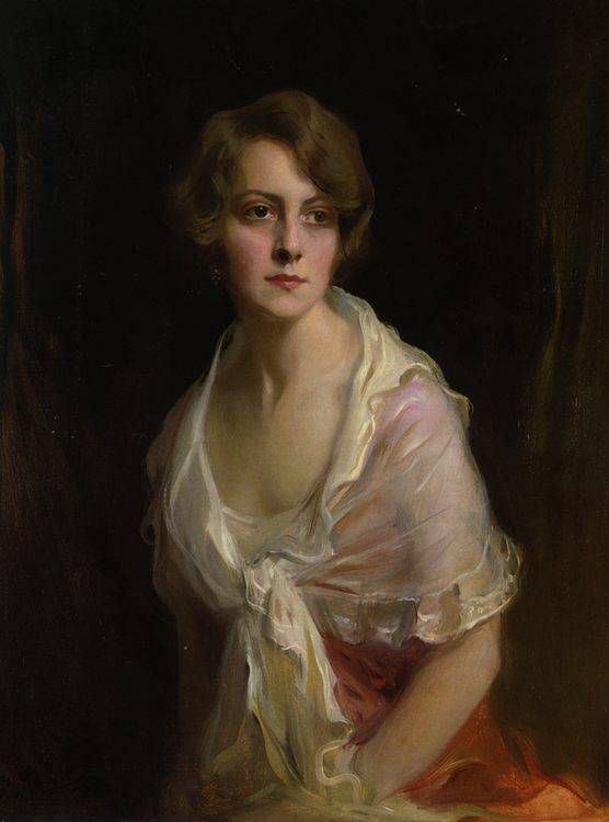 Mrs Claud Mullins :: Philip Alexius de Laszlo - 8 female portraits hall фото
