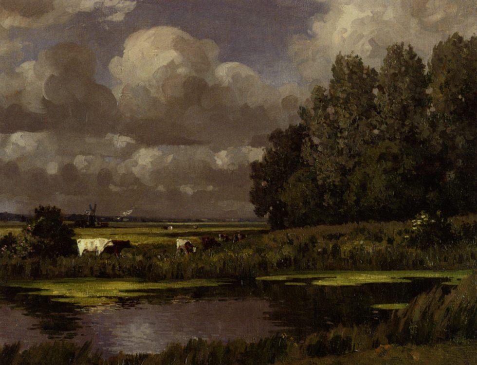 Distant Storm Clouds Suffolk :: Campbell A Mellon   - Summer landscapes and gardens ôîòî