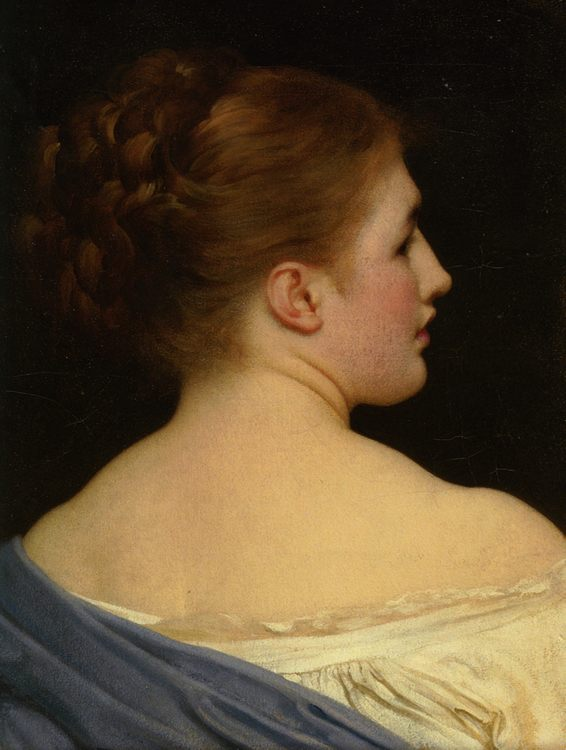 Lily :: Lord Frederick Leighton - 7 female portraits ( the end of 19 centuries ) in art and painting фото