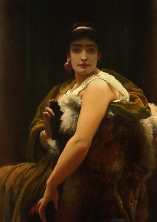 Twixt Hope and Fear :: Lord Frederick Leighton - Allegory in art and painting фото