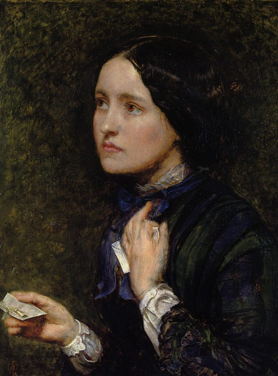 Wedding Cards :: John Everett Millais - 7 female portraits ( the end of 19 centuries ) in art and painting фото