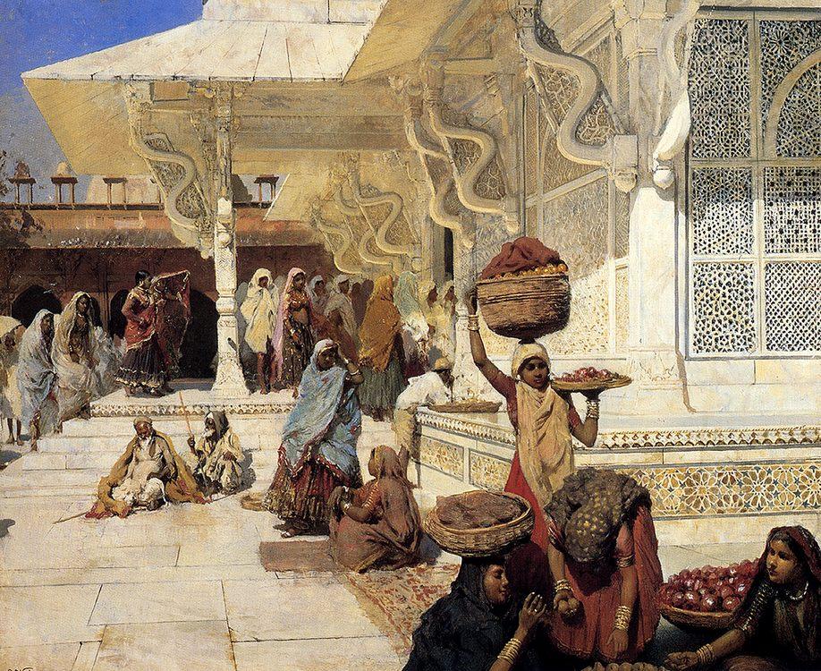 Festival At Fatehpur Sikri :: Edwin Lord Weeks - Oriental architecture ôîòî
