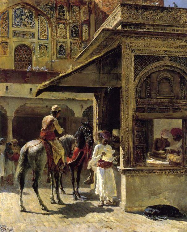 Hindu Merchants :: Edwin Lord Weeks - Street and market genre scenes ôîòî