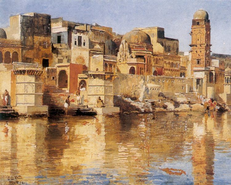 Muttra :: Edwin Lord Weeks - Oriental architecture фото