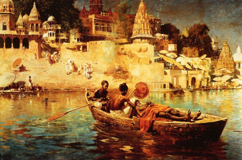 The Last Voyage :: Edwin Lord Weeks - Oriental architecture ôîòî