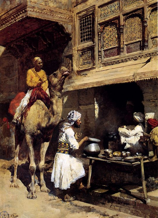 The Metalsmith's Shop :: Edwin Lord Weeks - Street and market genre scenes фото