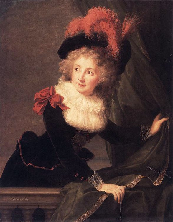 Madame Perregaux :: Elisabeth Louise Vigee-Le Brun - 5 women portraits ( the beginning of 19 centuries ) фото
