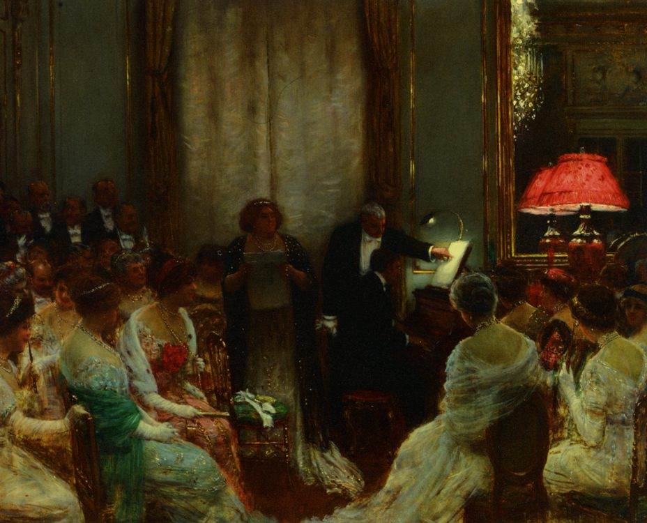 Private concert :: Jean Beraud  - Balls and receptions фото