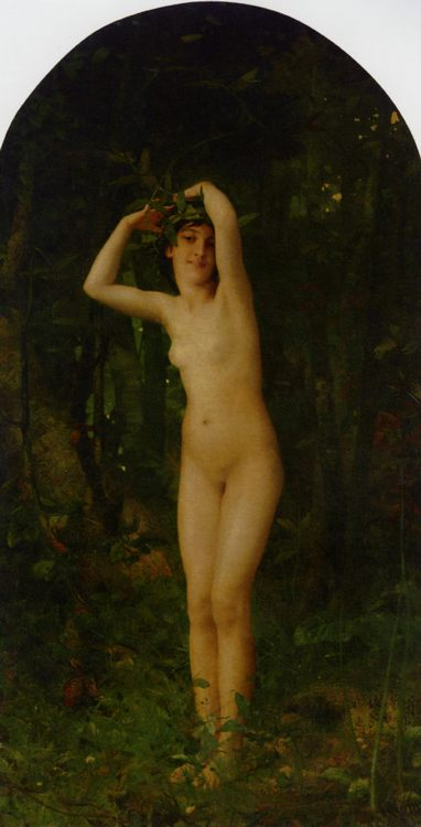 Nude in Forest :: Aime-Nicolas Morot - Nu in art and painting ôîòî