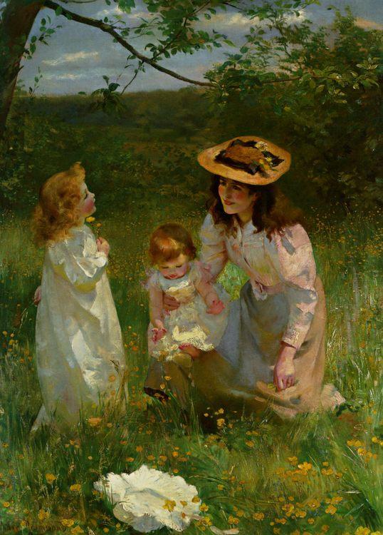 She loves primroses :: Arthur Drummond - Picnic ôîòî