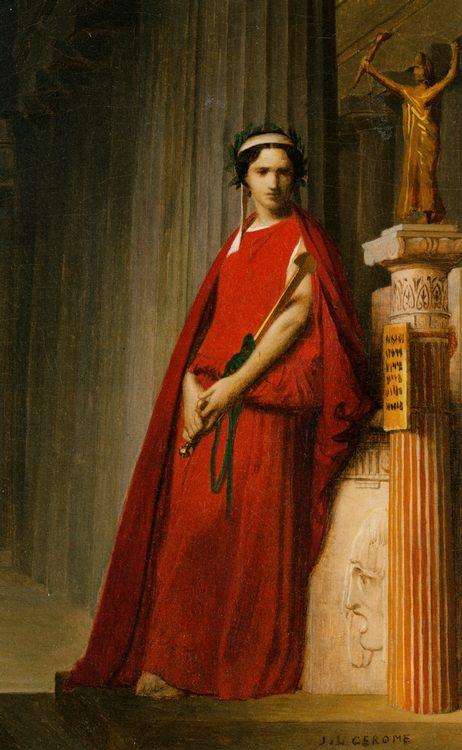 Portrait of Richard Felix :: Jean-Leon Gerome - Antique world scenes ôîòî