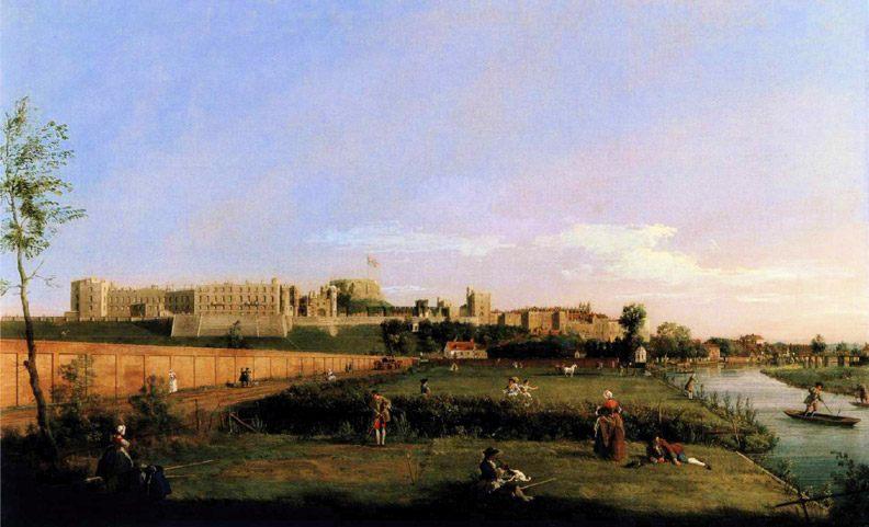 Windsor Castle :: Canaletto - England ôîòî