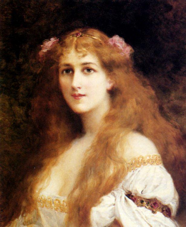 Ophelia :: Francis Edouard Zier  - mythology and poetry ôîòî