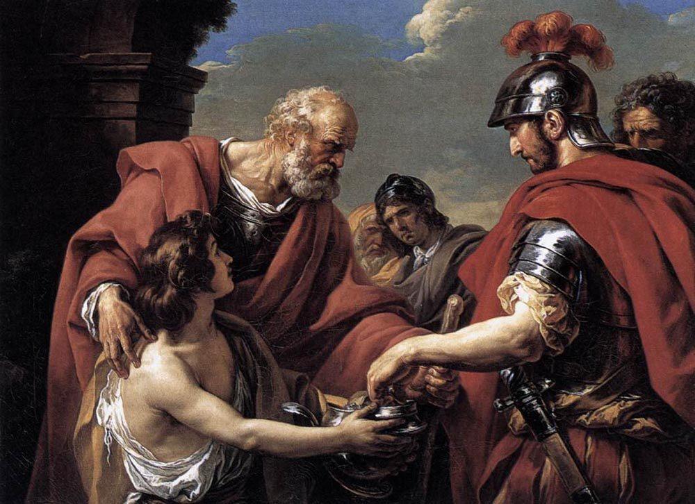 Belisarius :: Francois-Andre Vincent - Antique world scenes фото