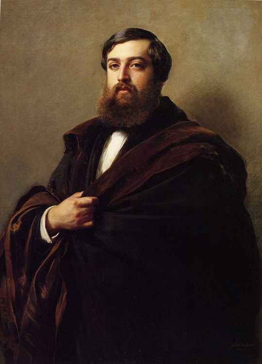 Alfred-Emilien, Comte de Nieuwerkerke :: Franz Xavier Winterhalter - men's portraits 19th century (second half) ôîòî