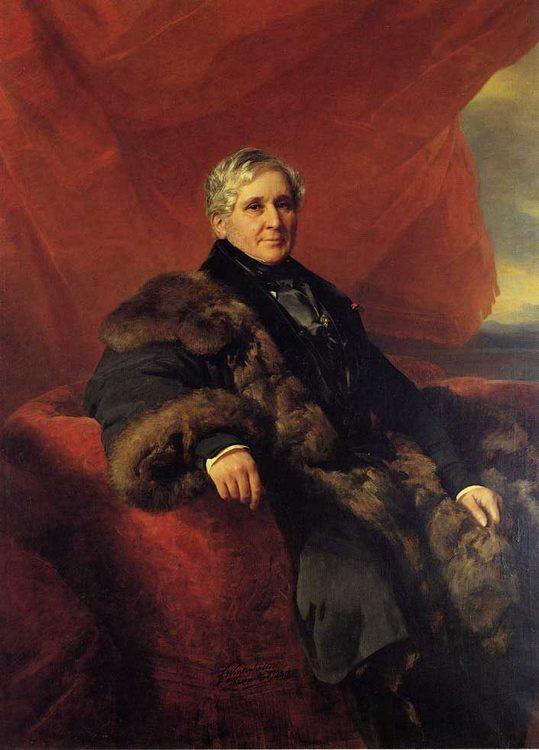 Charles-Jerome, Comte Pozzo di Borgo :: Franz Xavier Winterhalter - men's portraits 19th century (first half) фото