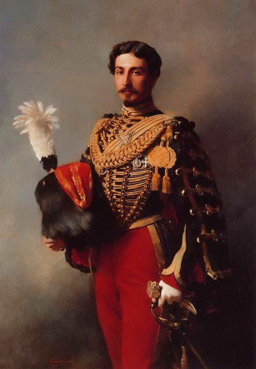 Edouard Andre :: Franz Xavier Winterhalter - men's portraits 19th century (second half) фото