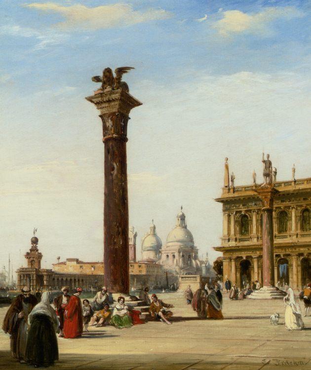 Piazza San Marco Venice :: Edward Pritchett - Venice фото