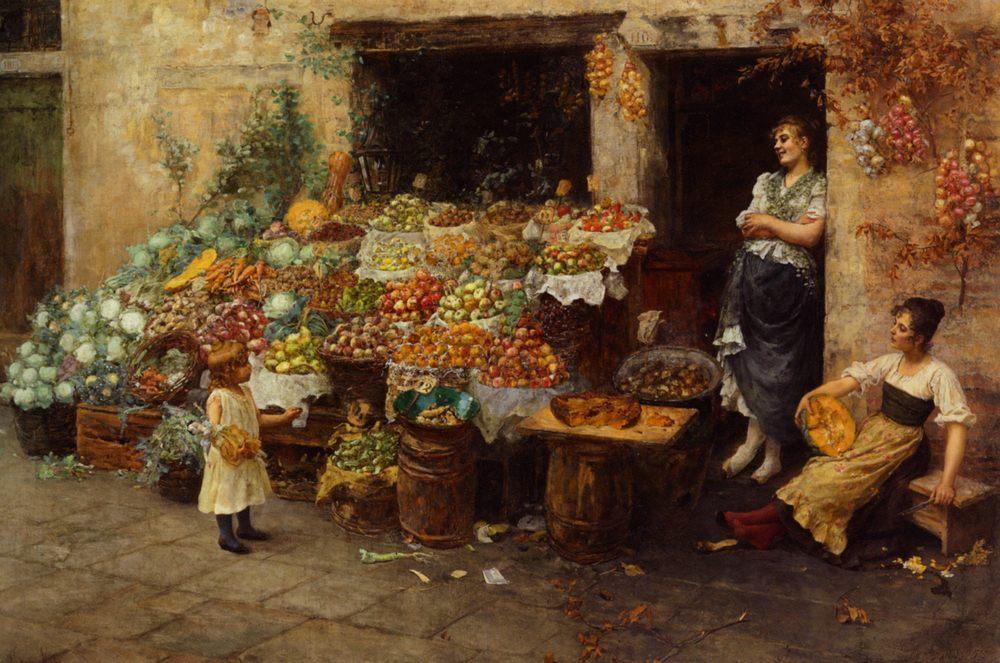 An apple, please :: Stefano Novo - Street and market genre scenes ôîòî