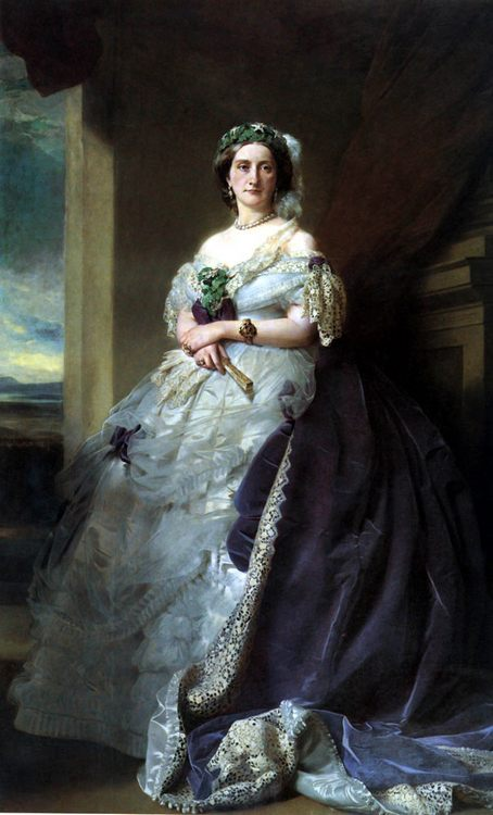 Julia Louise Bosville, Lady Middleton :: Franz Xavier Winterhalter - 6 woman's portraits hall ( The middle of 19 centuries ) in art and painting фото