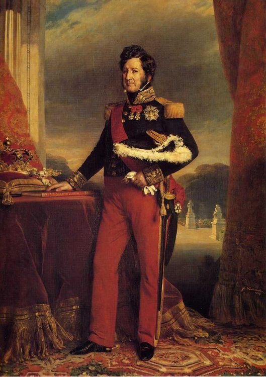 King Louis Philippe :: Franz Xavier Winterhalter - men's portraits 19th century (first half) фото