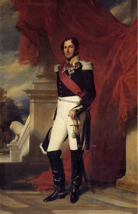 Leopold I, King of the Belgians :: Franz Xavier Winterhalter - men's portraits 19th century (first half) фото