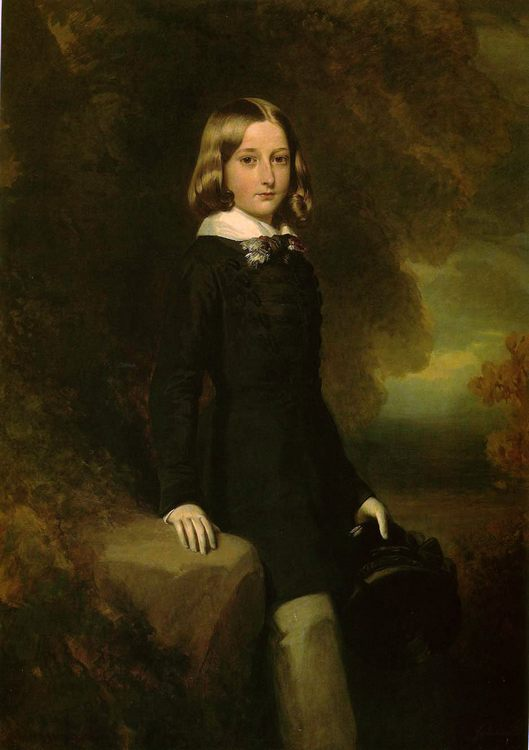 Leopold, Duke of Brabant :: Franz Xavier Winterhalter - Children's portrait in art and painting фото