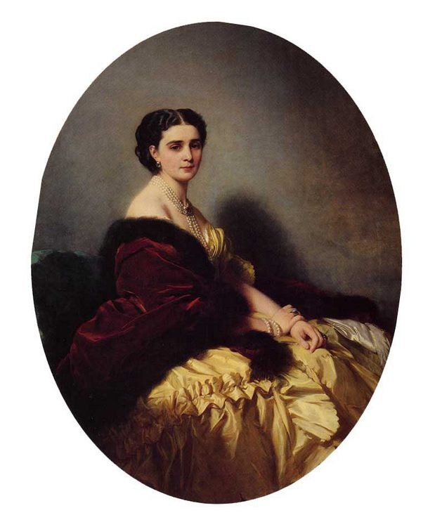 Madame Sofya Petrovna Naryschkina :: Franz Xavier Winterhalter - 6 woman's portraits hall ( The middle of 19 centuries ) in art and painting фото