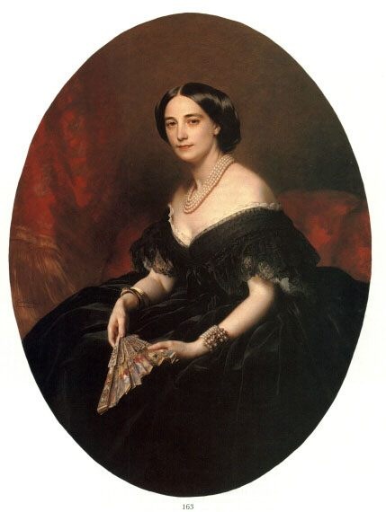 Portrait of a Lady :: Franz Xavier Winterhalter - 6 woman's portraits hall ( The middle of 19 centuries ) in art and painting ôîòî