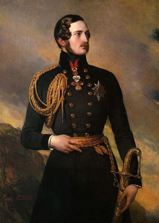 Prince Albert :: Franz Xavier Winterhalter  - men's portraits 19th century (second half) фото