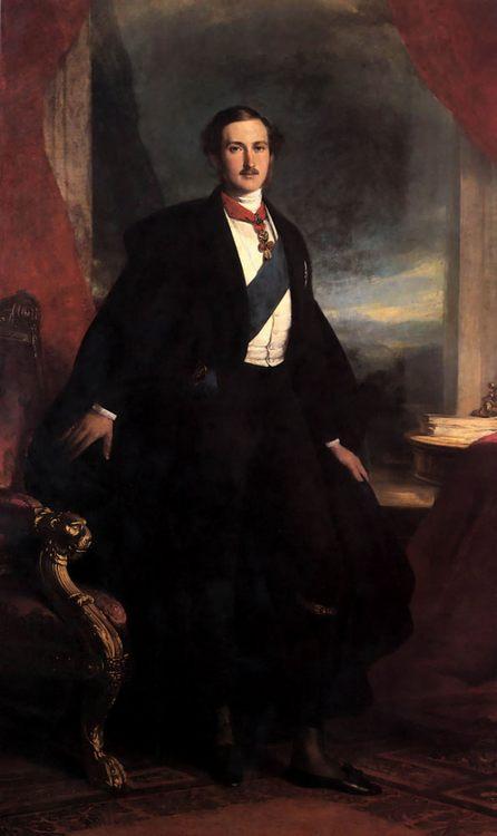 Prince Albert :: Franz Xavier Winterhalter - men's portraits 19th century (first half) фото