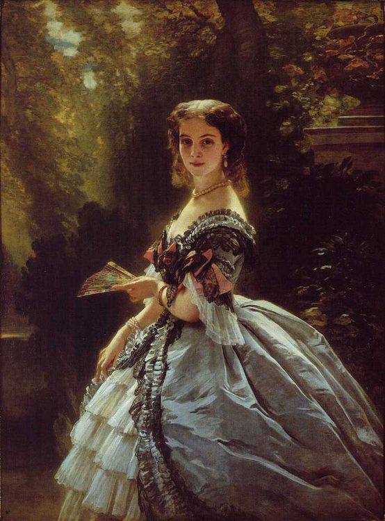 Princess Elizabeth Esperovna Belosselsky-Belosenky, Princess Troubetskoi :: Franz Xavier Winterhalter - 6 woman's portraits hall ( The middle of 19 centuries ) in art and painting фото
