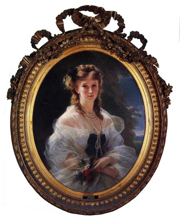 Princess Sophie Troubetskoi, Duchess de Morny :: Franz Xavier Winterhalter - 6 woman's portraits hall ( The middle of 19 centuries ) in art and painting фото