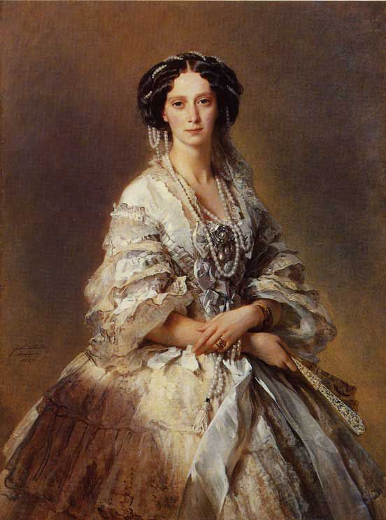 The Empress Maria Alexandrovna of Russia :: Franz Xavier Winterhalter - 6 woman's portraits hall ( The middle of 19 centuries ) in art and painting фото
