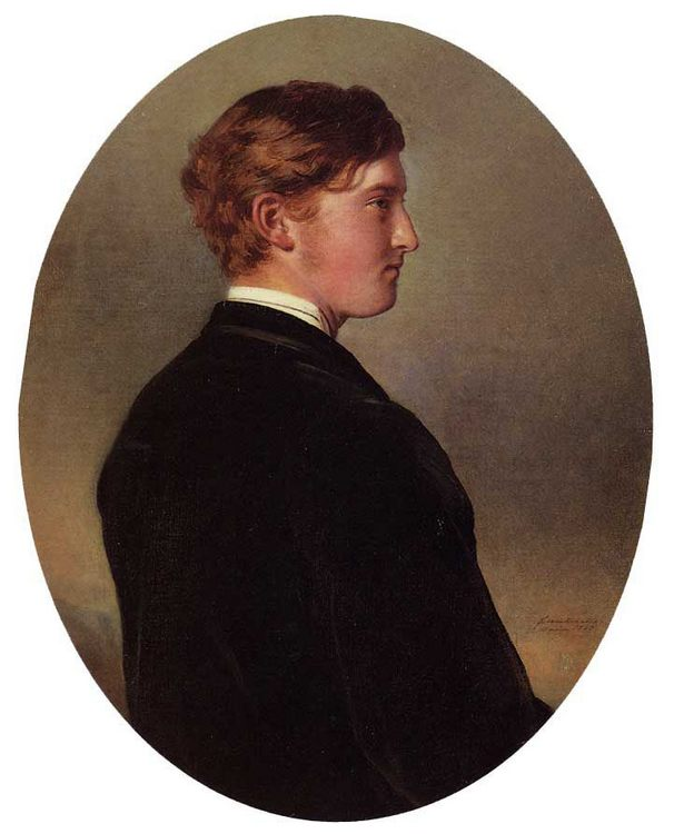 William Douglas Hamilton, 12th Duke of Hamilton :: Franz Xavier Winterhalter - men's portraits 19th century (second half) ôîòî