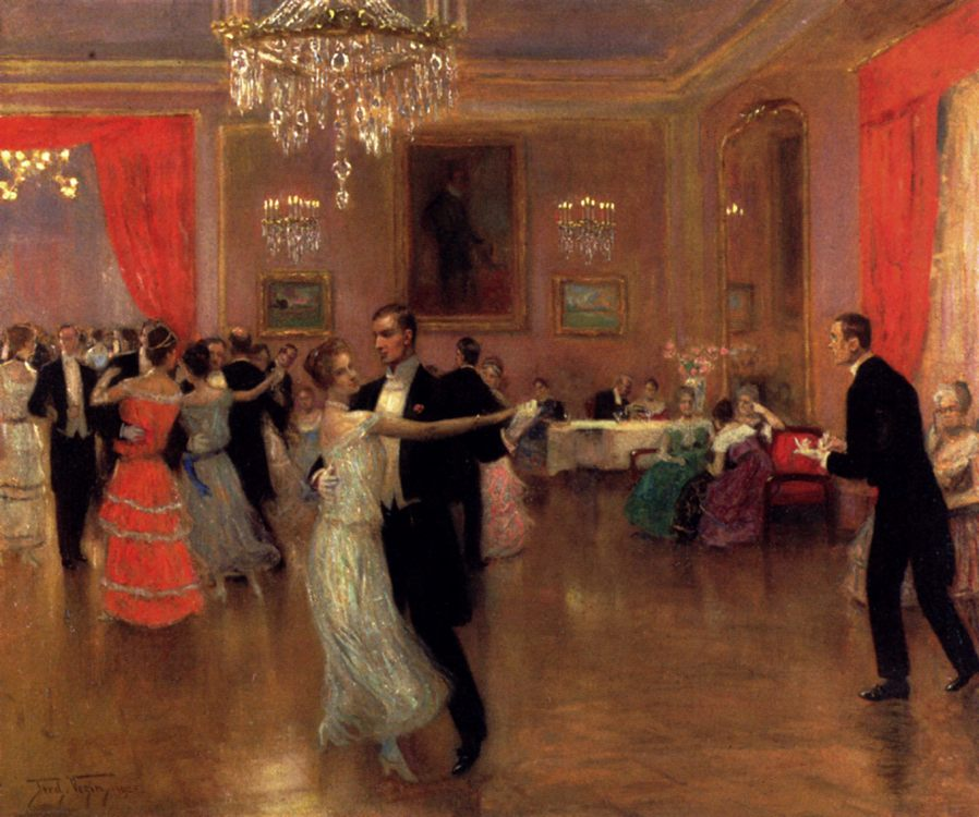 At The Ball :: Frederick Vezin - Balls and receptions фото