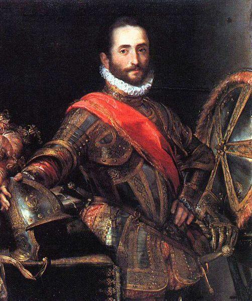 Francesco II della Rovere :: Federico Barocci - men's portraits 16th century фото