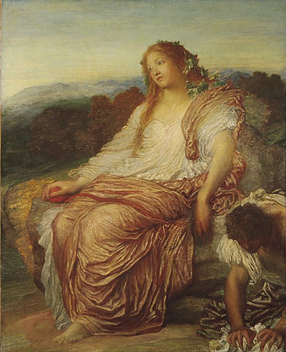 Ariadne :: George Frederick Watts - mythology and poetry фото