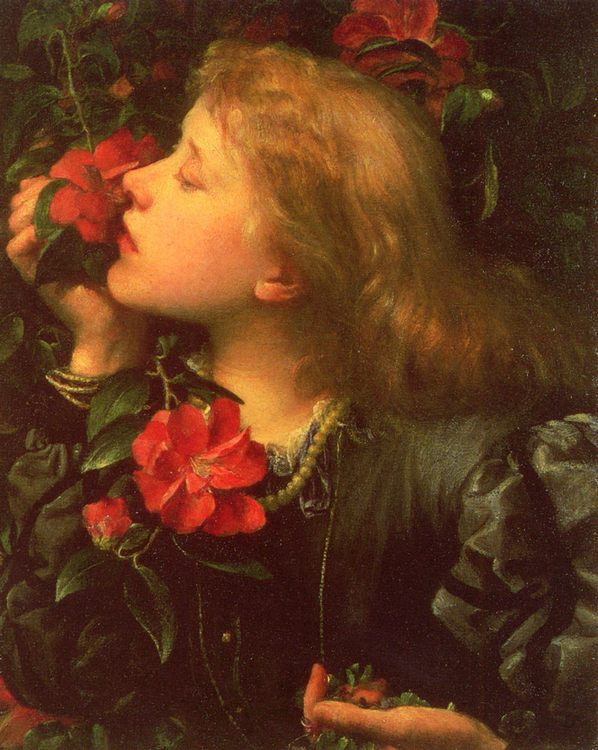 Choosing :: George Frederick Watts - 6 woman's portraits hall ( The middle of 19 centuries ) in art and painting ôîòî