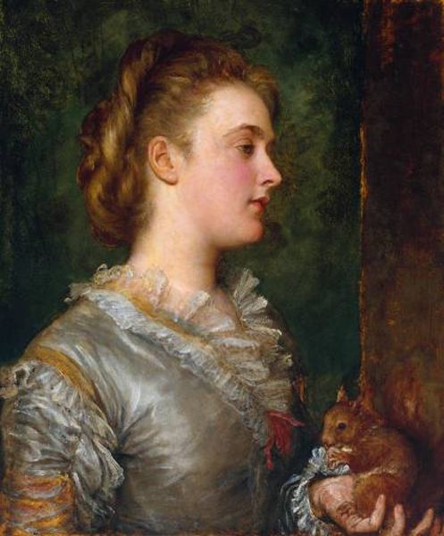 Dorothy Tennant, Later Lady Stanley :: George Frederick Watts - 6 woman's portraits hall ( The middle of 19 centuries ) in art and painting фото