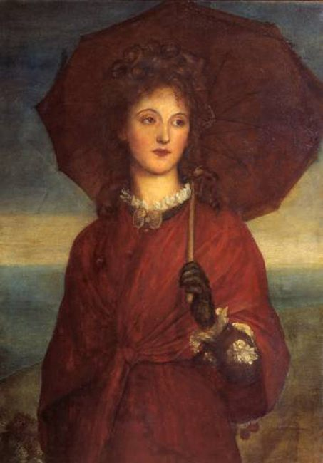 Eveleen Tennant, later Mrs F.W.H. Myers :: George Frederick Watts - 7 female portraits ( the end of 19 centuries ) in art and painting фото