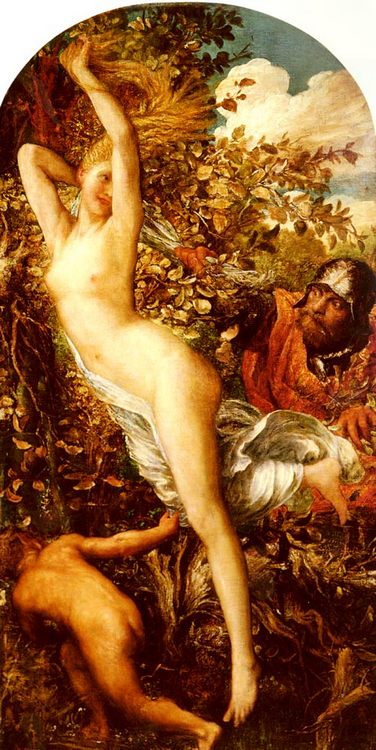 Fata Morgana :: George Frederick Watts - nu art in mythology painting фото