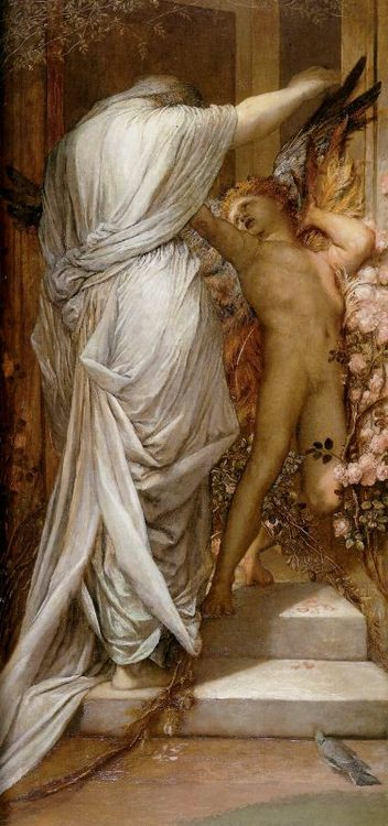 Love and Death :: George Frederick Watts - Allegory in art and painting фото