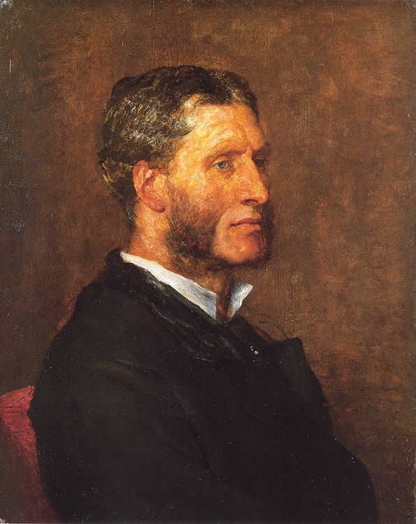 Matthew Arnold :: George Frederick Watts - men's portraits 19th century (second half) фото