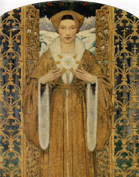 The Snow Queen :: Edgar Maxence - Fantasy in art and painting фото