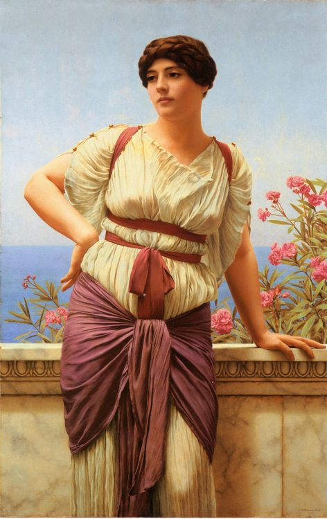 Matrona Superba :: John William Godward - Antique beauties in art and painting фото